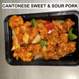 cantonese sweet and sour pork