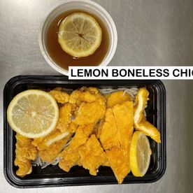 lemon boneless chicken