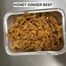 honey ginger beef