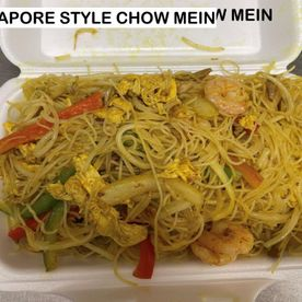singapore style chow mein